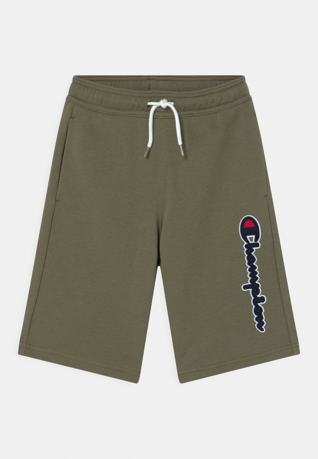 LOGO BERMUDA UNISEX - Sports shorts - khaki