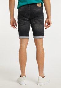 Petrol Industries - Denim shorts - black stone - 2