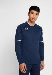 Under Armour - CHALLENGER MIDLAYER - Long sleeved top - academy/halo gray - 0