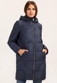 Finn Flare - MIT MODISCHER BRUSTTASCHE - Winter coat - cosmic blue - 0