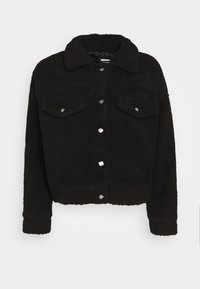 Dr.Denim Petite - PIXLEY PILE JACKET - Winter jacket - black - 4