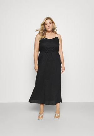 CARFLOWER LIFE DRESS SOLID - Day dress - black