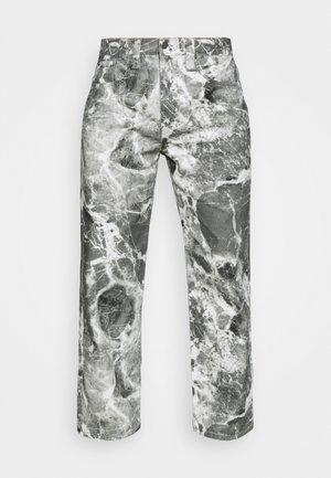 MARBLE SKATE - Straight leg jeans - grey