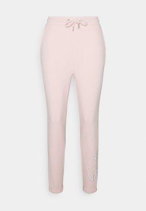 SIKSILK ESSENTIAL JOGGER - Spodnie treningowe - pink