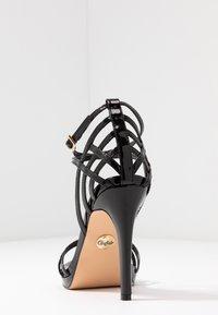 Buffalo - FIRA - High heeled sandals - black - 5