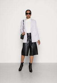 Esprit - LONGSLEEVE ROLLNECK - Long sleeved top - off white - 1