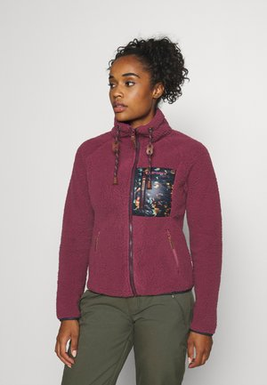 CROIX - Fleece jacket - burgundy