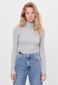 Bershka - Jumper - light grey - 0