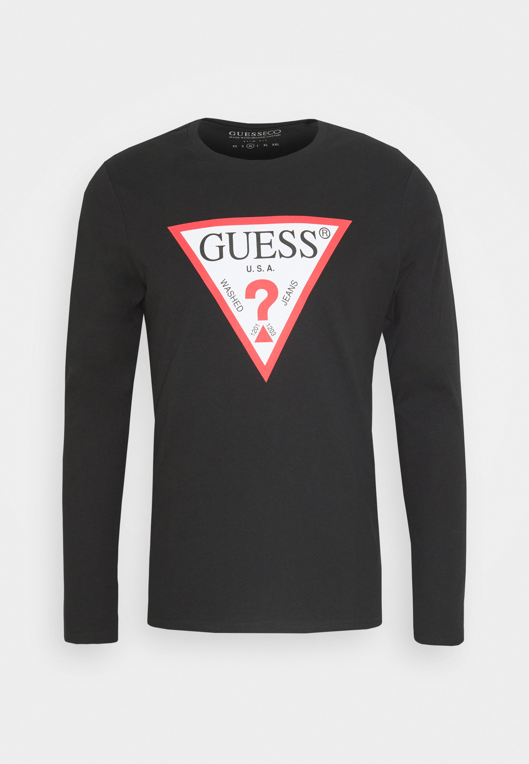 Hombre Camisetas Guess Camiseta interior jet black,guess