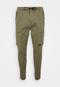 JOGGER - Cargo trousers - new olive cargo skinny jogger