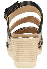Caprice - Wedge sandals - leo comb 939 - 3