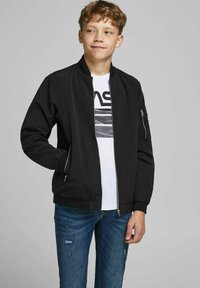 Jack & Jones Junior - Bomberjakke - black - 1