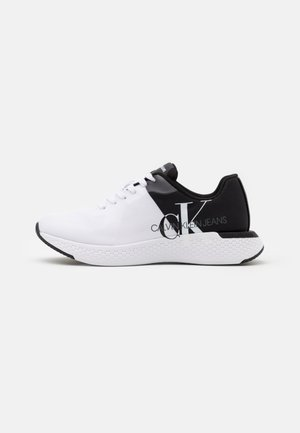 ANGIOLO - Sneakersy niskie - white/black