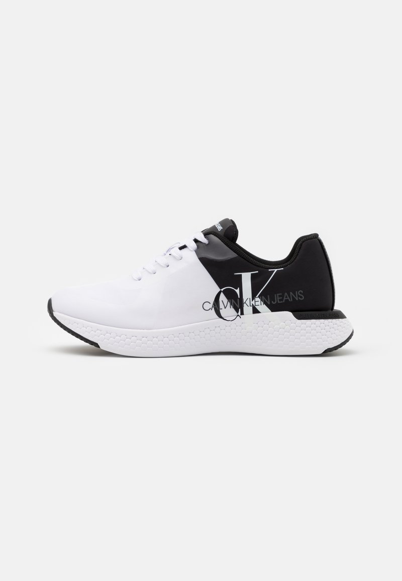 Calvin Klein Jeans - ANGIOLO - Zapatillas - white/black