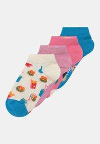 Happy Socks - CAKE & DONUT 4 PACK UNISEX - Sokken - multicoloured - 0