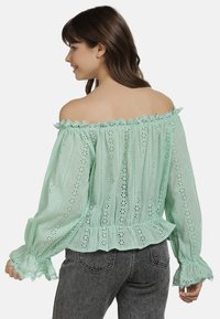 myMo - BLUSE - Blouse - mint - 2
