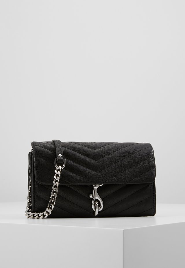 EDIE WALLET ON CHAIN - Portefeuille - black