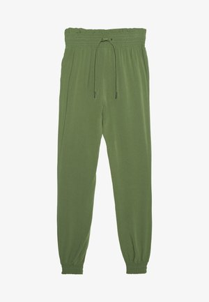 FLUID HAREMS PANTS - Trousers - dull moss green
