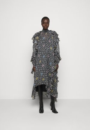 RUFFLE SLEEVE DRESS 2-IN-1 - Maxi dress - multi