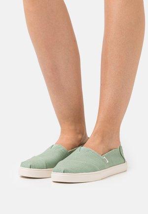 ALPARGATA CUPSOLE VEGAN - Sneakers laag - green