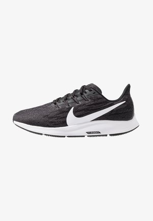 AIR ZOOM PEGASUS 36 - Løbesko stabilitet - black/white/thunder grey
