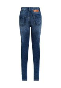 WE Fashion - SUPERSKINNY - Jeggings - dark blue - 1
