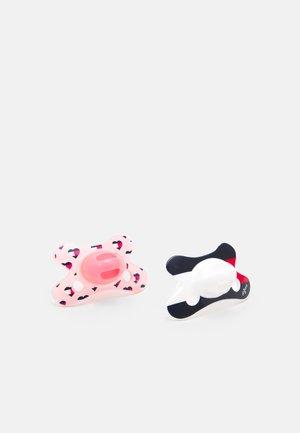 BABY DUMMY 2 PACK  UNISEX - Fopspeen - pink