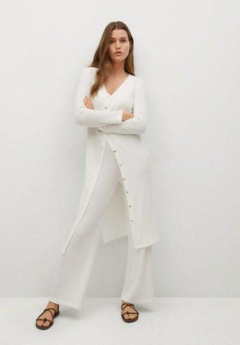 Cardigan - gebroken wit