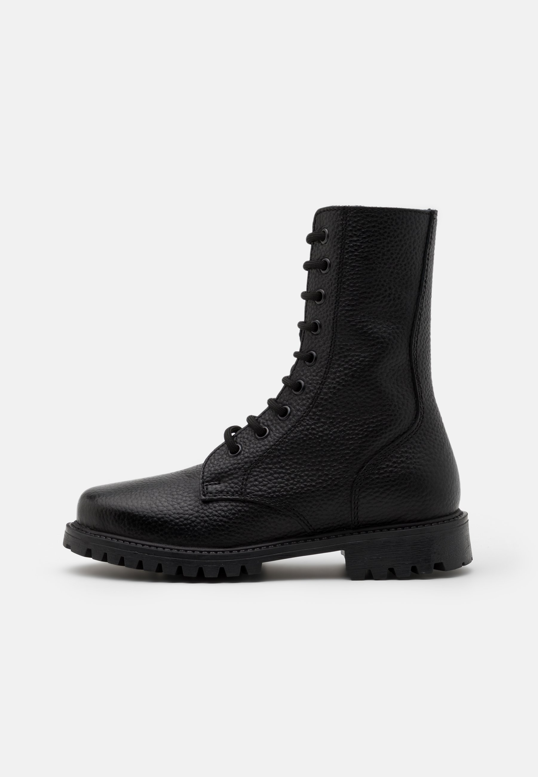 Men KEFF HIGH EMBOSSED UNISEX - Lace-up ankle boots