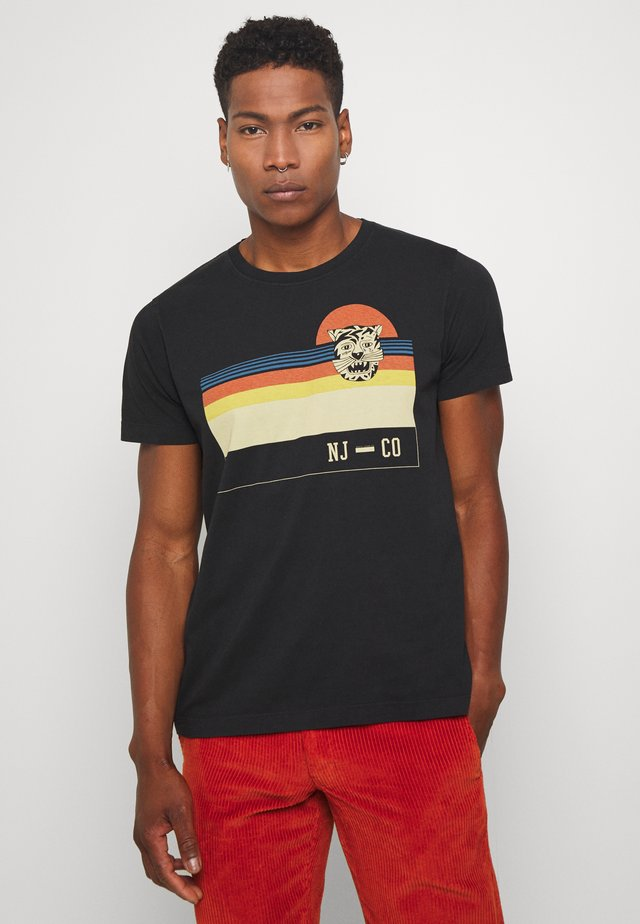 ROY - T-shirt con stampa - black