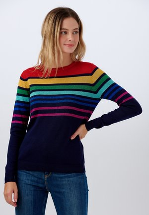 SWEATER ROWENA OMBRE SPECTRUM - Trui - navy