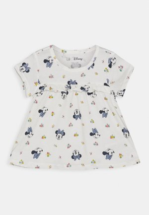 TODDLER GIRL MINNIE MOUSE  - Top s dlouhým rukávem - white