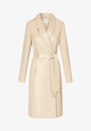 Classic coat - sesam