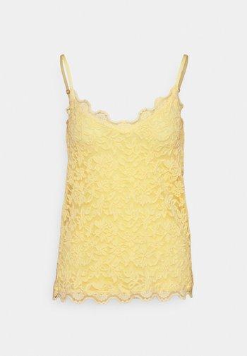 STRAP - Top - vanilla yellow