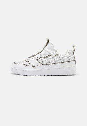 Sneakersy niskie - white/burnt olive