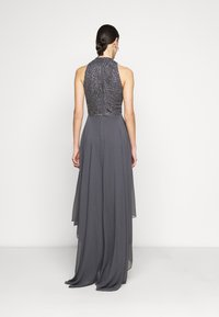 Lace & Beads Tall - AVERY HIGH LOW DRESS - Iltapuku - charcoal - 2