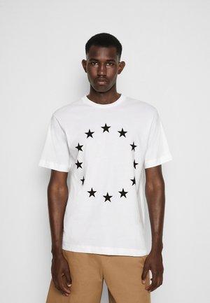 EUROPA UNISEX - T-Shirt print - white