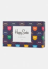 Happy Socks - MIXED CAT GIFT SET 3 PACK - Socken - multi - 1