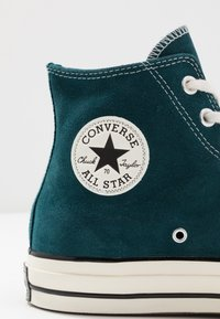 Converse - CHUCK  - Baskets montantes - midnight turquoise/black/egret - 5