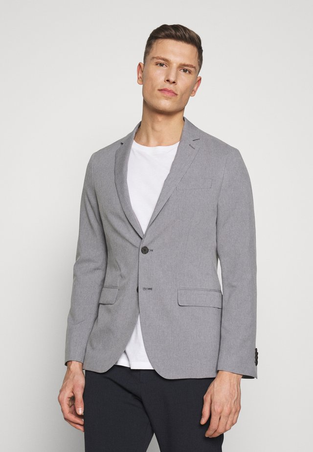J LIGHTWEIGHT WASHABLE  - Blazer - light grey/ silver