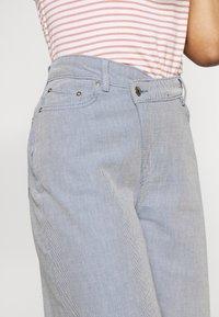 Weekday - ALLANIT SKEW TROUSERS - Trousers - denim as hanger - 3