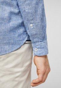 s.Oliver - Shirt - blue dobby - 6