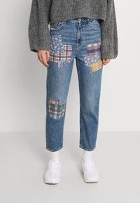 American Eagle - MOM - Straight leg jeans - dark wash - 0