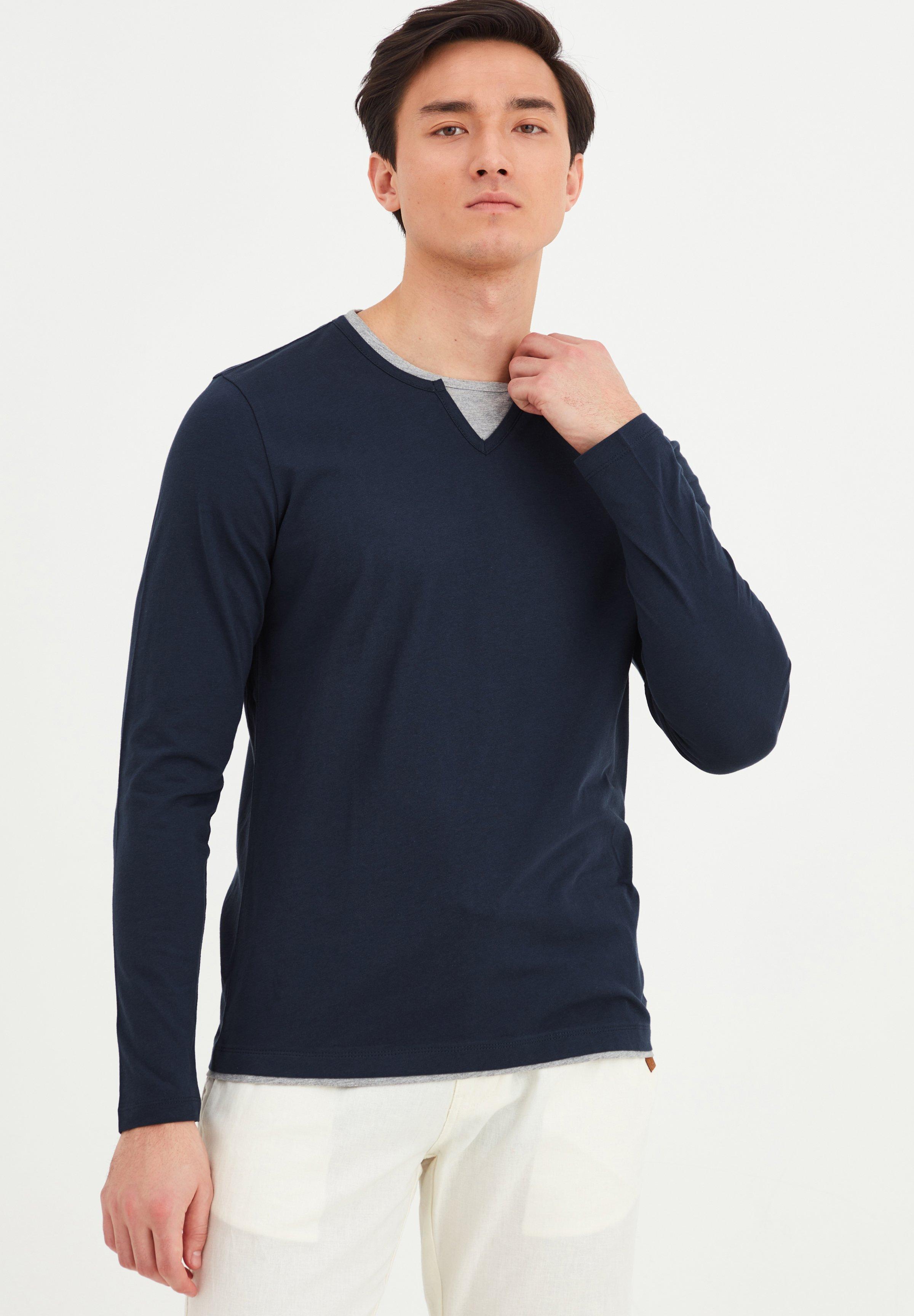 Herrer LEONAS - Langærmede T-shirts
