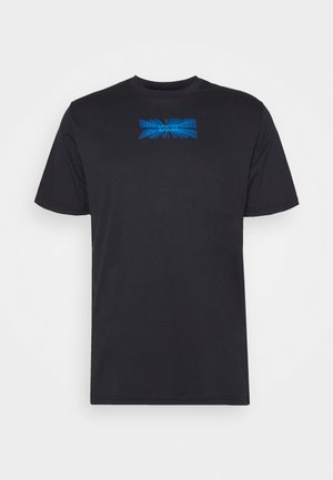 BASKETBALL GRAPHIC TEE - T-shirt print - black