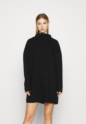 DRESS - Jumper dress - black dark