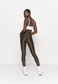 Sweaty Betty - HIGH SHINE 7/8 WORKOUT - Leggings - turkish coffee brown - 2