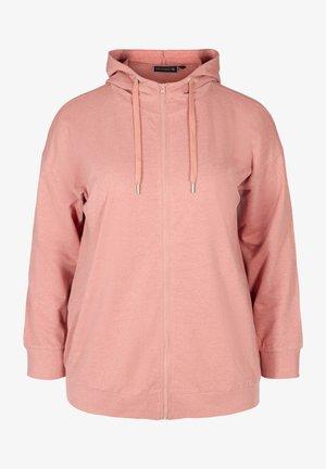 Bluza rozpinana - rose