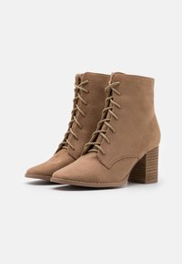 Rubi Shoes by Cotton On - MARCELLE LACE UP - Ankle boots - taupe - 2