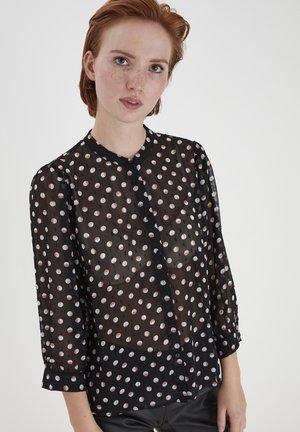 IXLIZZIE MS - Day dress - black with dot